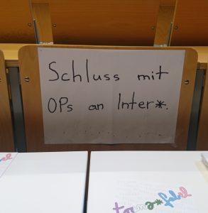 Schluss mit OPs an Inter*